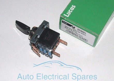 Lucas SPB201 31969 57SA Toggle Light Switch C15455